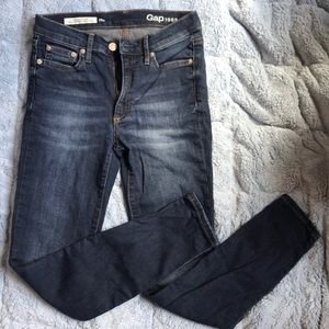 Gap resolution true skinny high rise jeans, 25p